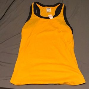 I'm selling a yellow tank top